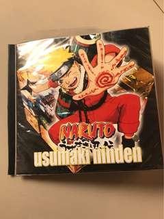 Tempat dvd atau cd holder file karakter naruto 2