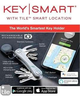 KeySmart Pro with Tile Smart Location- Import From USA