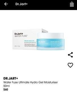 DR.JART+ Water Fuse Ultimate Hydro Gel Moisturiser