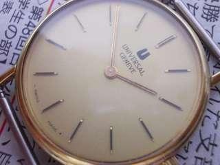 Vintage Universal Geneve manual wind watch Swiss
