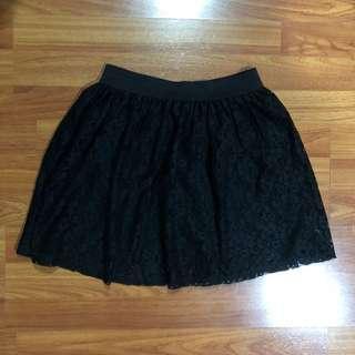 Pull&Bear Lace Skirt