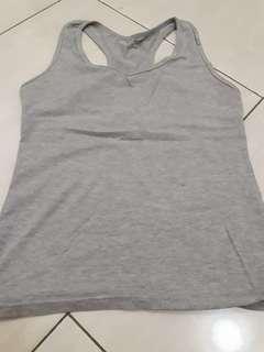 tank top wanita grey