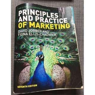 PRINCIPLES AND PRACTICE OF MARKETING (7TH ED)  - David Jobber and Fiona Ellis-Chadwick