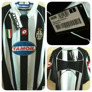 Juventus Lotto Retro Classic Home Kit 2003 Original Jersey