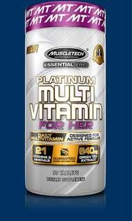 🚚 Muscletech Multivitamin for her