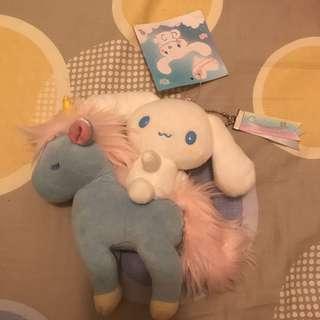 (已絕版)日本會場限定獨角獸肉桂狗 (sold out) Japan Unicorn and Cinnamoroll