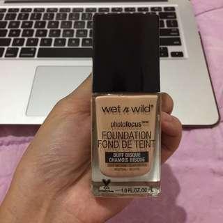 Wet n Wild Photofocus Foundation (NETT PRICE)