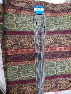 泰國鋼珠鍊,每條30吋,泰國人用它穿佛牌(本人親往泰國選購)。Stainless Steel necklace for Thai amulets