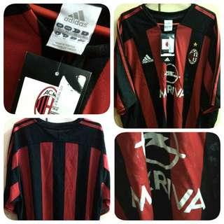 AC Milan Adidas Home Kit 2003-2004 size XL Jersey Original