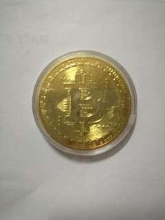 比特幣精鑄紀念幣