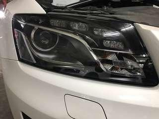 AUDI Q5 2009-2012款頭燈 headlight head light