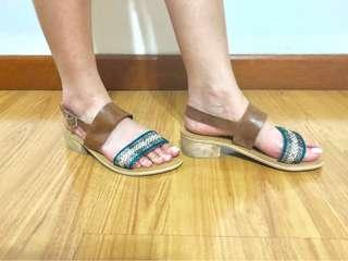 New Risque heeled sandals