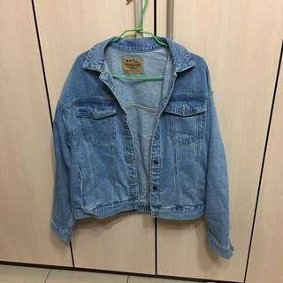 🚚 (正韓)原價1280over size 男友風厚磅牛仔外套