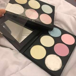 ( FREE POSTAGE ) BH cosmetics blacklight highlighter palette #SEPHORA50