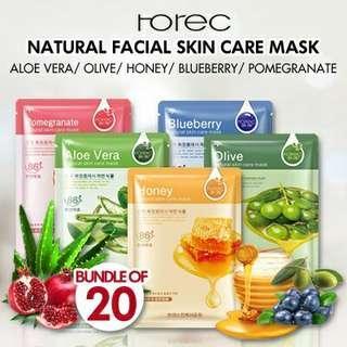 Natural Facial Skin Care Mask