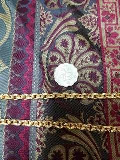 泰國佛牌包金鍊 Gold filled necklace for Thai amulets