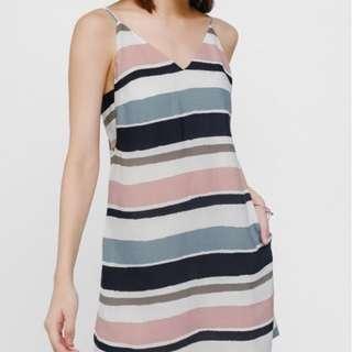Love Bonito Helbina Printed Layered Cut Out Dress