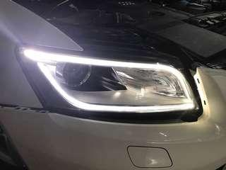 [舊款頭燈升級]AUDI Q5 2009-2016 新款頭燈 Headlight head light  Upgrade