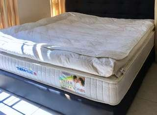 Spinal Support Feather Mattress Topper (King)