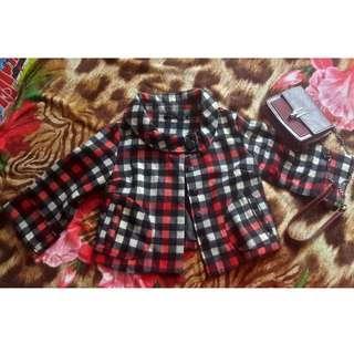 Plaid Autumn Jacket