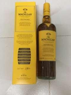麥卡倫MacAllan no.3 限量版(香港行貨)