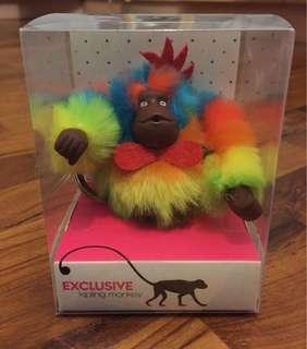 Exclusive Kipling monkey keychain