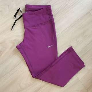Nike Womens Epic Dri Fit Run Crop Leggings