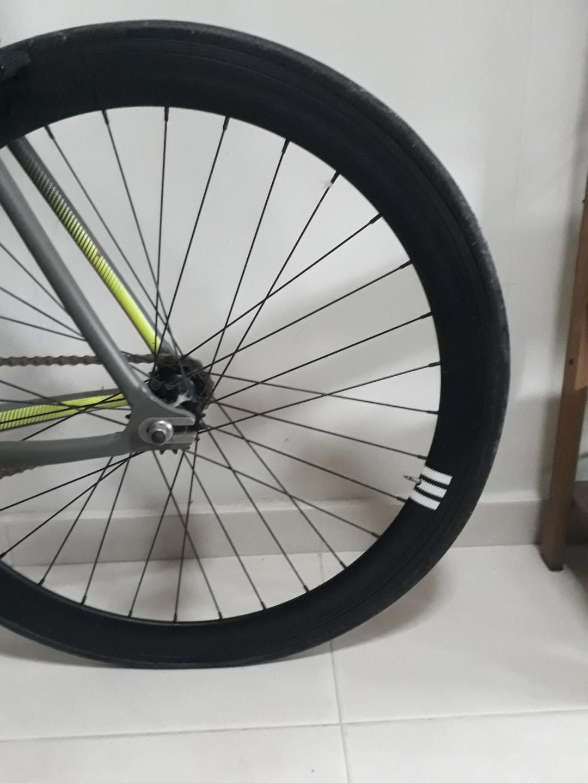Adidas Bombtrack bicycle