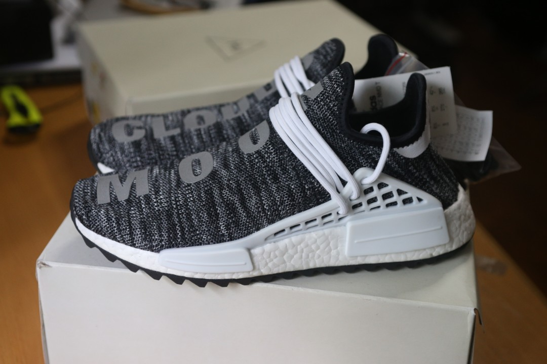 4bb4a63be adidas Human Race TR Trail NMD Pharrell Williams Oreo