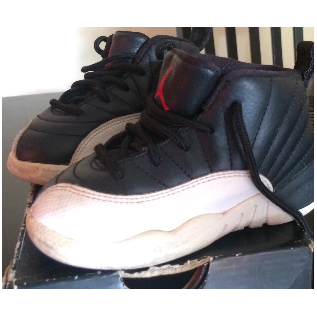 fa17d9f58e0 Air Jordan 12 Retro for toddler, Babies & Kids, Others on Carousell