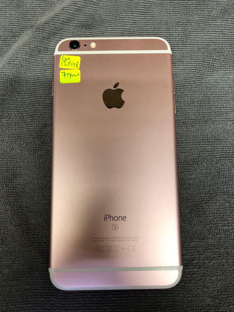 34c80ad8f54 Apple IPhone 6s Plus 128gb Rose Gold slight scratch