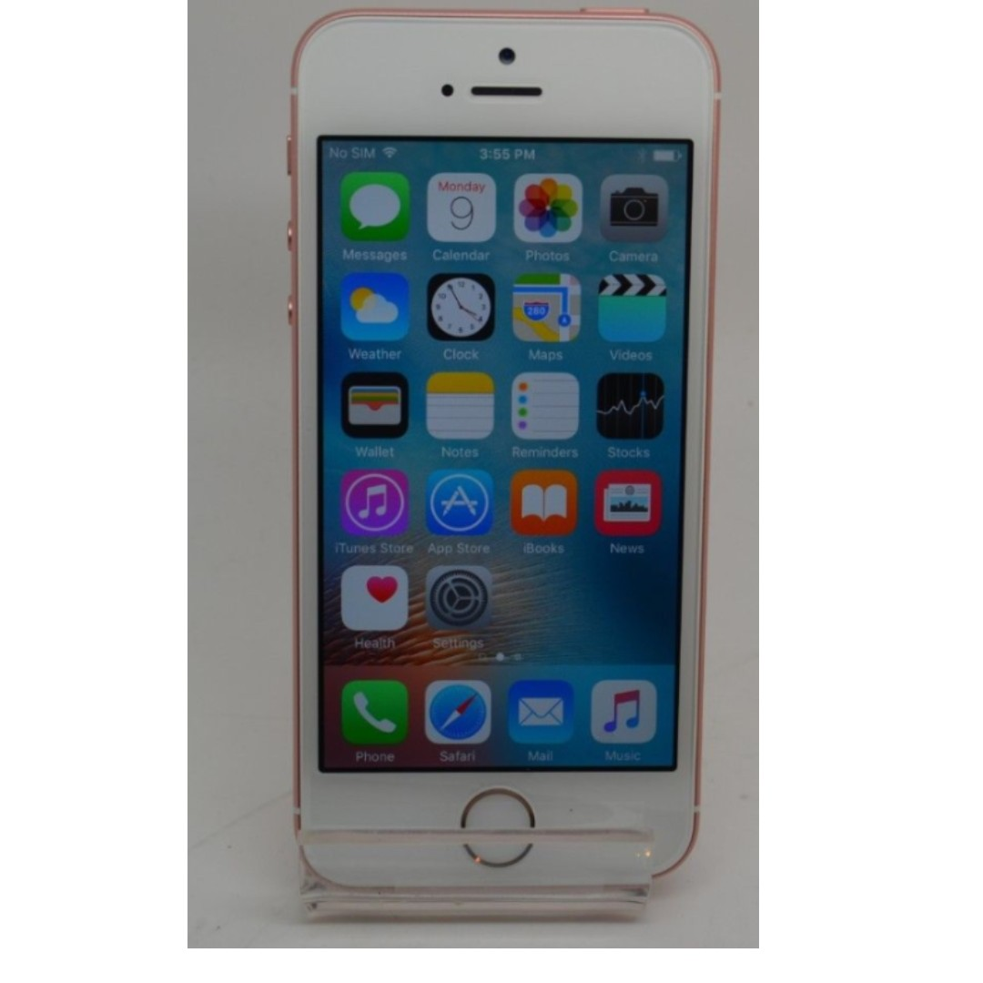 Afholte Apple iPhone SE - 32GB - Rose Gold (Straight Talk), Good Condition NG-85