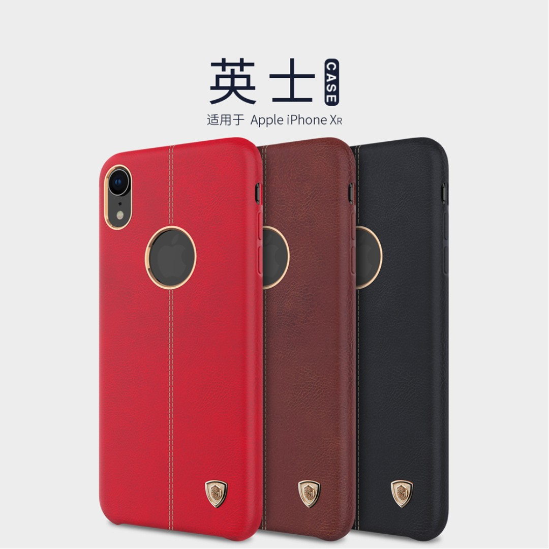 Apple Iphone Xr Englon Leather Case Full Coverage Casing Mobile