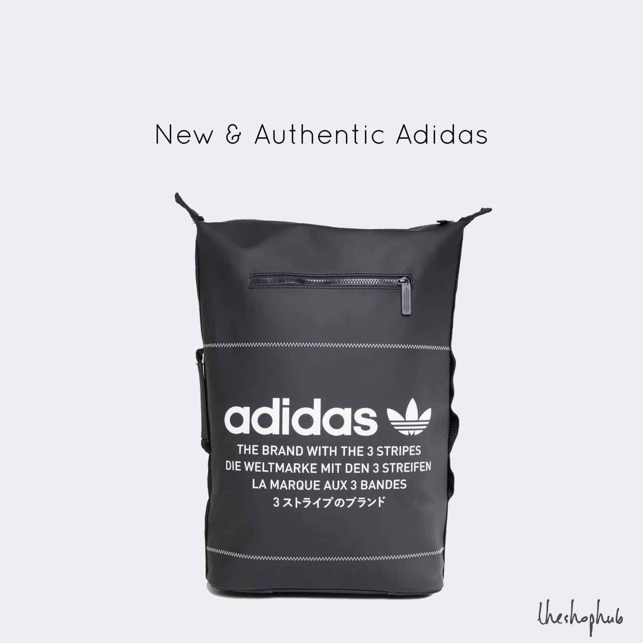 separation shoes c88da cb299  AUTHENTIC  Adidas NMD Backpack- Black, Men s Fashion, Bags   Wallets,  Backpacks on Carousell