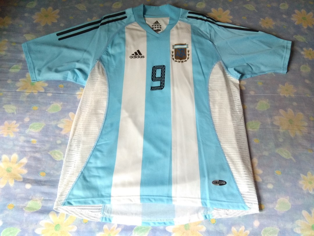 Authentic Argentina Adidas FIFA World Cup 2002 Home Retro Football ... 2cd20d20c