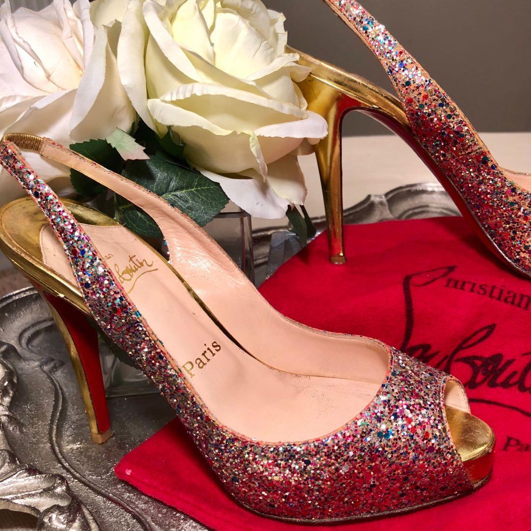 Authentic Christian Louboutin Size 38