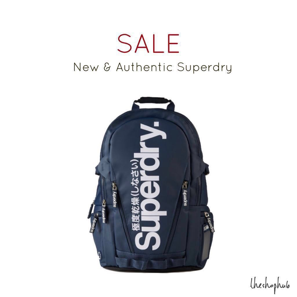 Superdry Bags Navy Backpack AUTHENTIC Fashion Men's Tarpaulin FqwCngf