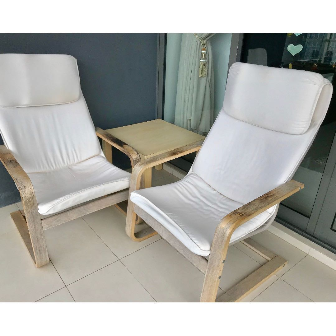 Balcony Chairs Table Furniture Tables Chairs On Carousell