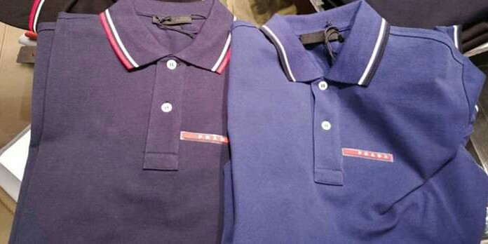 f2c09813 BEST PRICE!!!PRADA Polo shirt, Men's Fashion, Clothes, Tops on Carousell