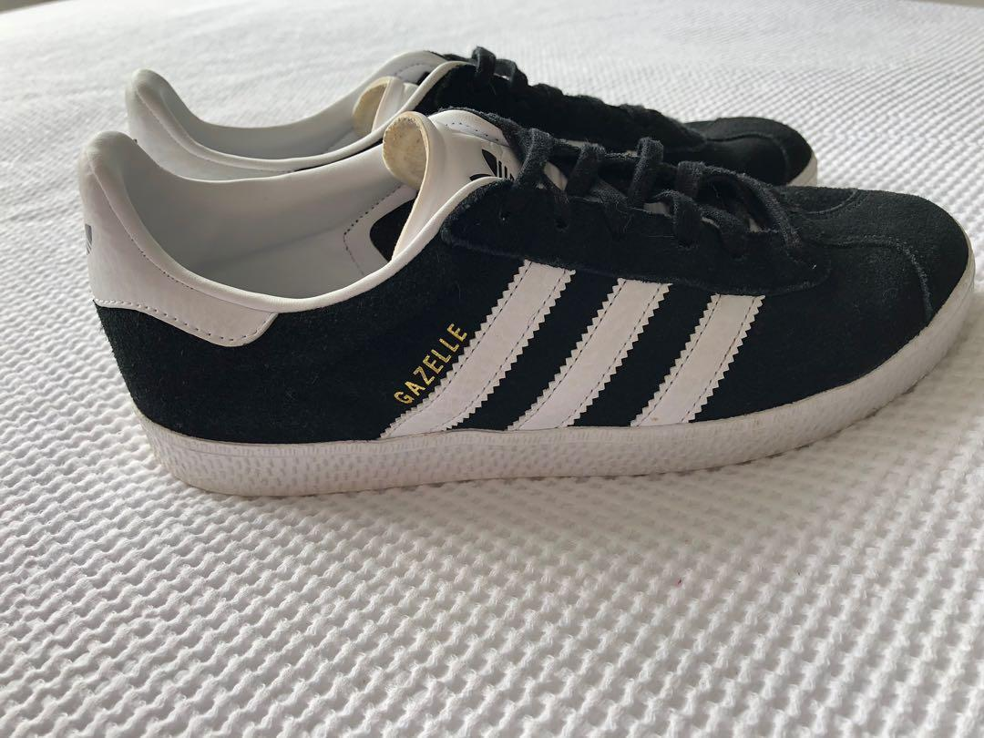 Black Adidas Gazelles