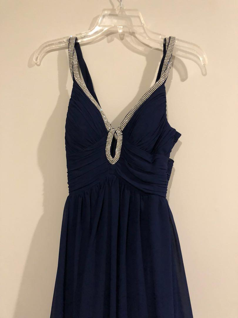 Blue Ball dress