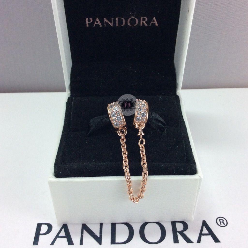 b1f6a545049f8 PANDORA Rose Shining Elegance Safety Chain