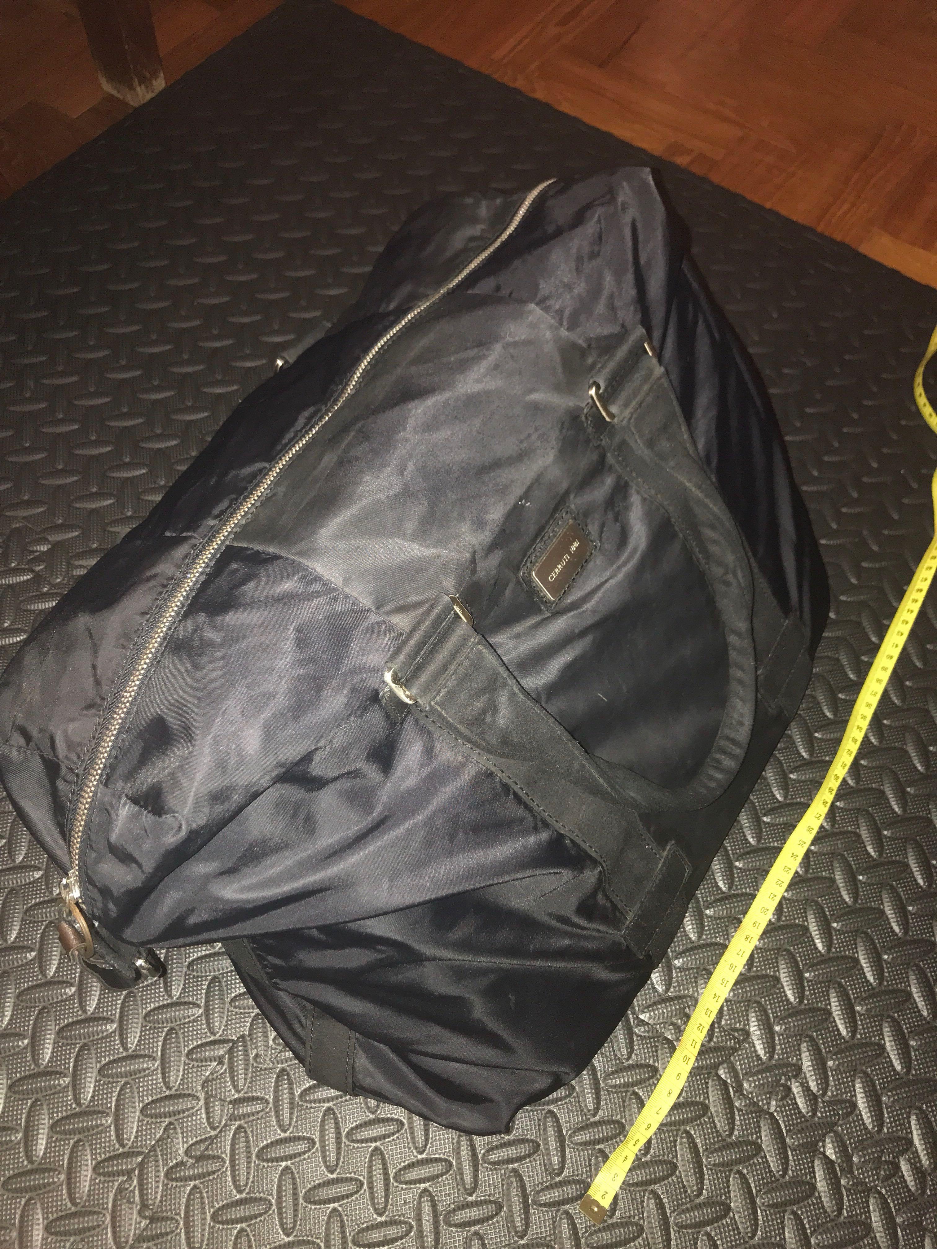 3842a7e311 Cerruti 1881 men tote bag / weekender bag, Men's Fashion, Bags & Wallets,  Backpacks on Carousell
