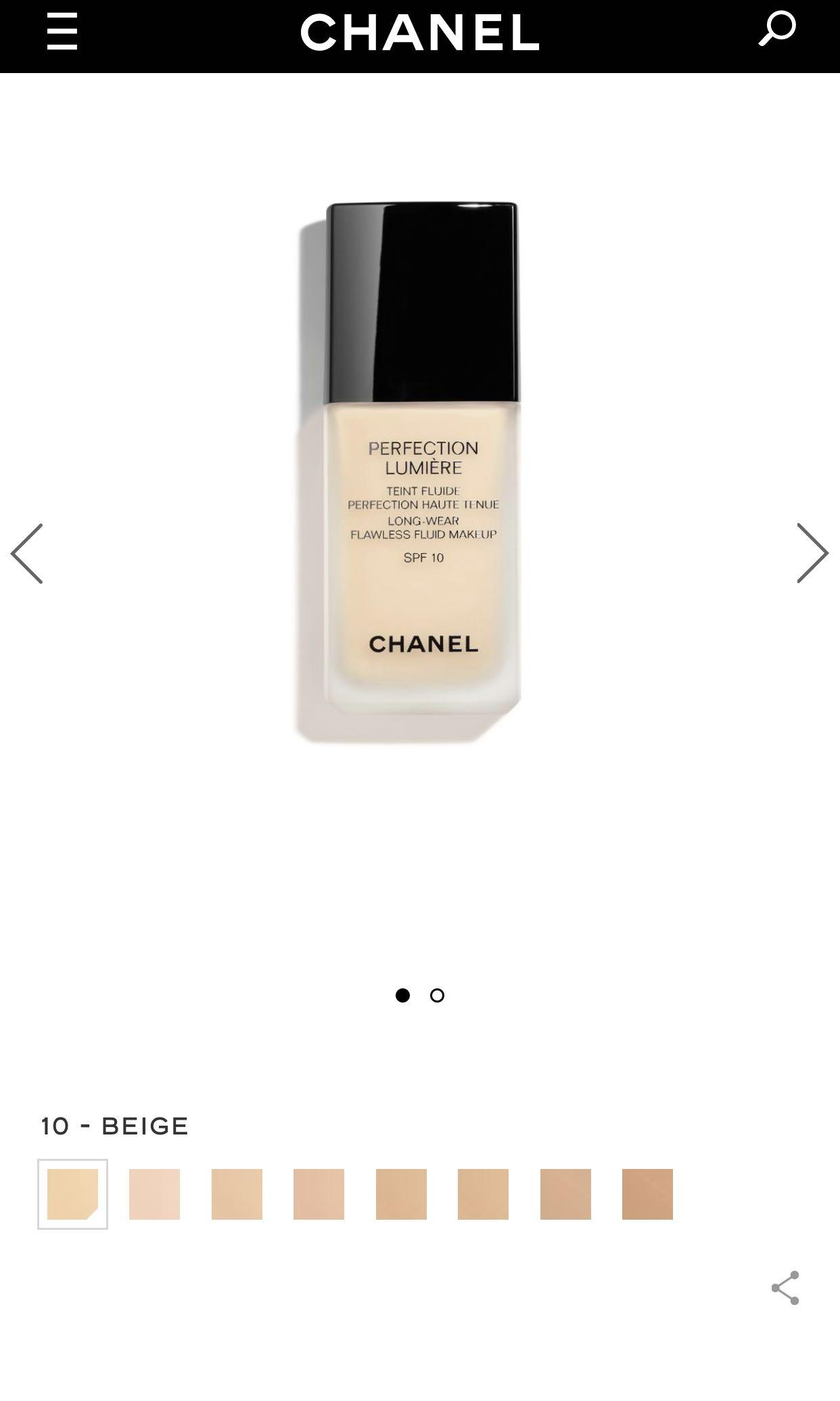 Chanel perfect lumiere