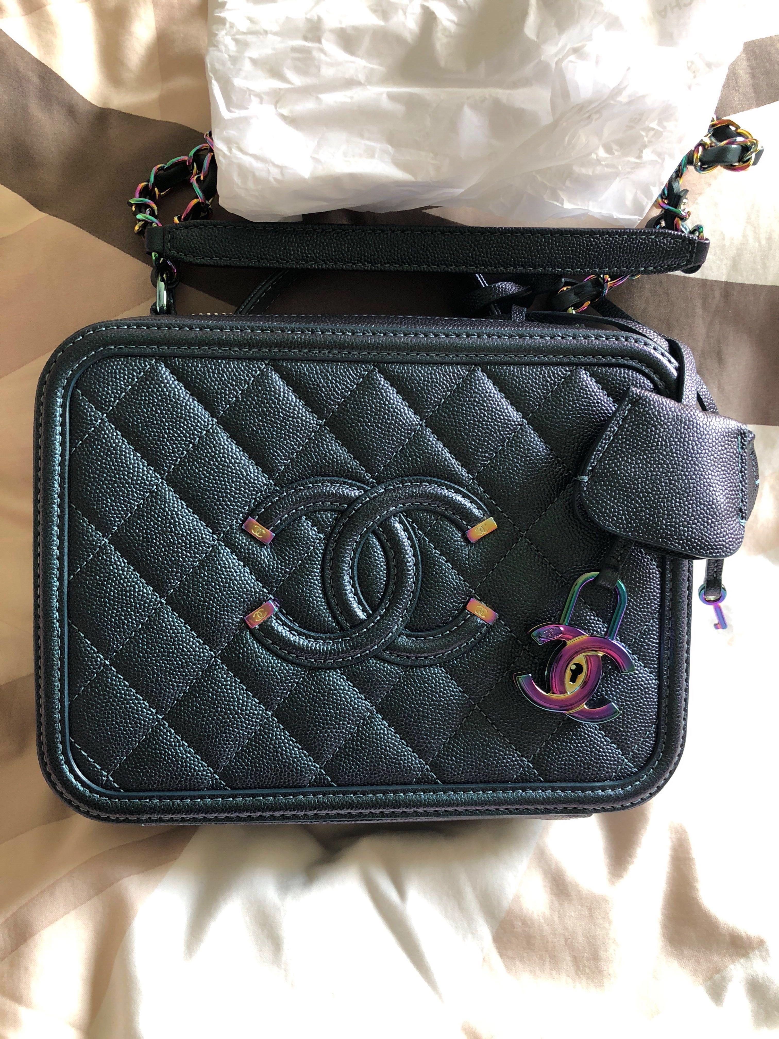 c0684edd58c2 Chanel Vanity Case Rainbow HW