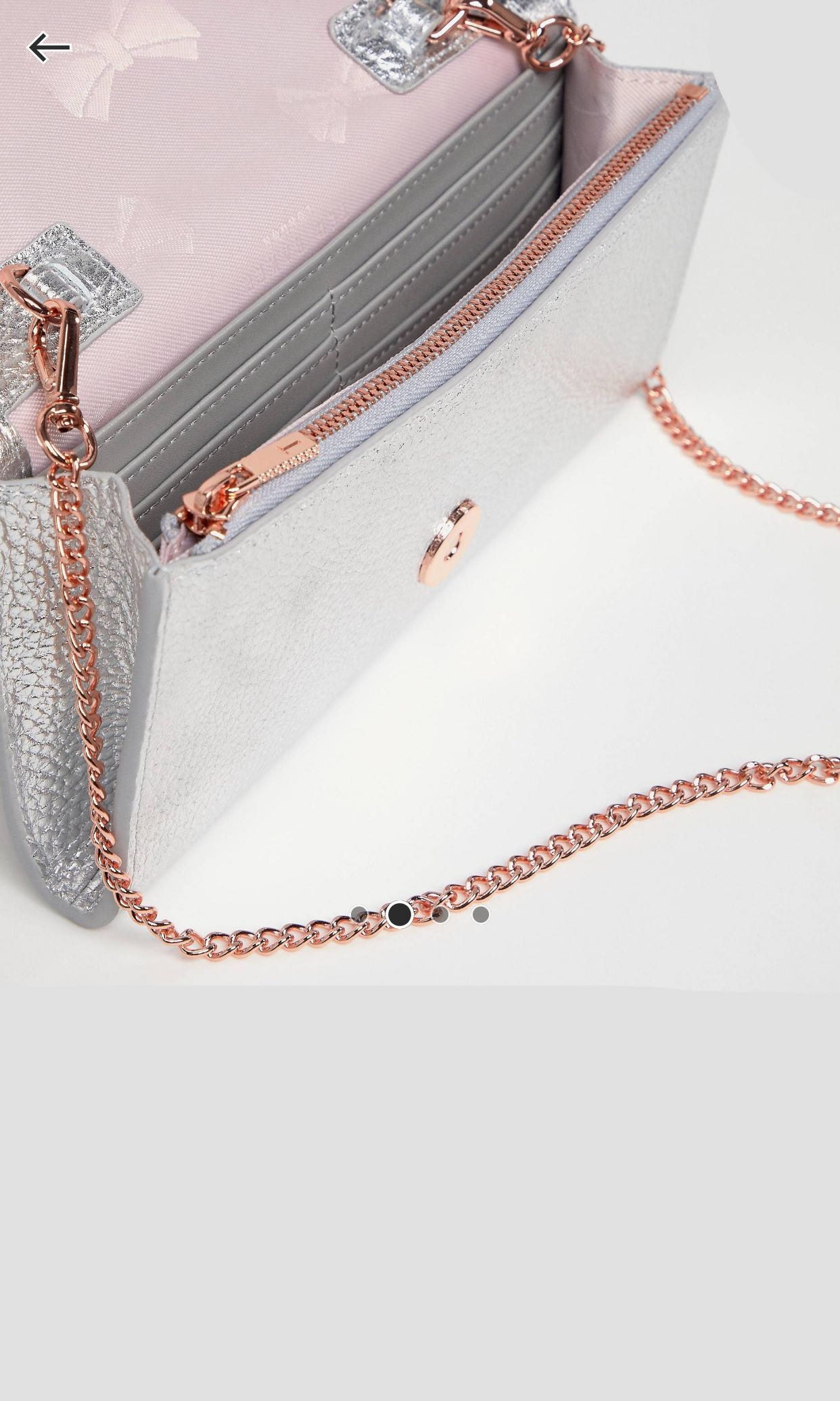 a5d384a02 Clearance ted baker bag with gold chain sling