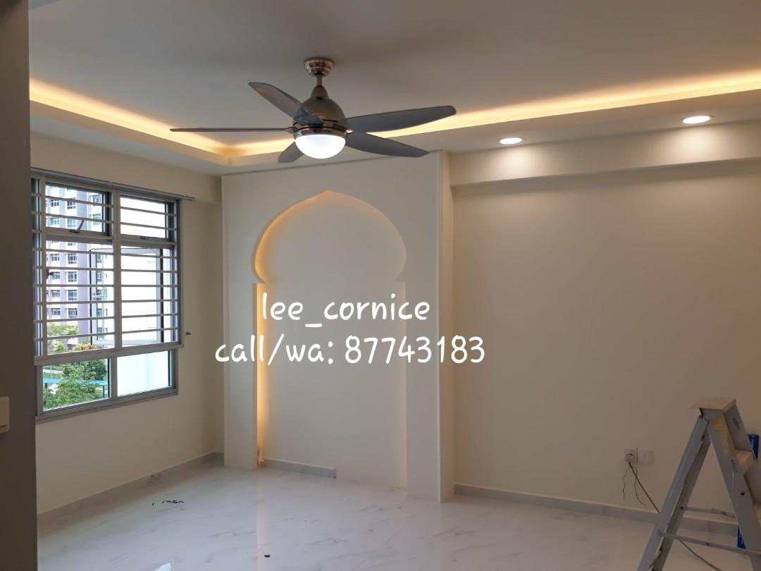 Cornice Ceiling Singapore   Taraba Home Review