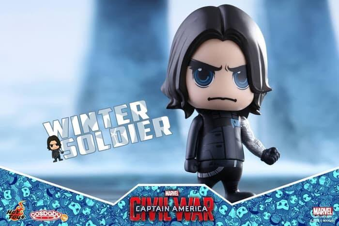 Cosbaby Winter Soldier Bucky -Captain America: Civil War anime version