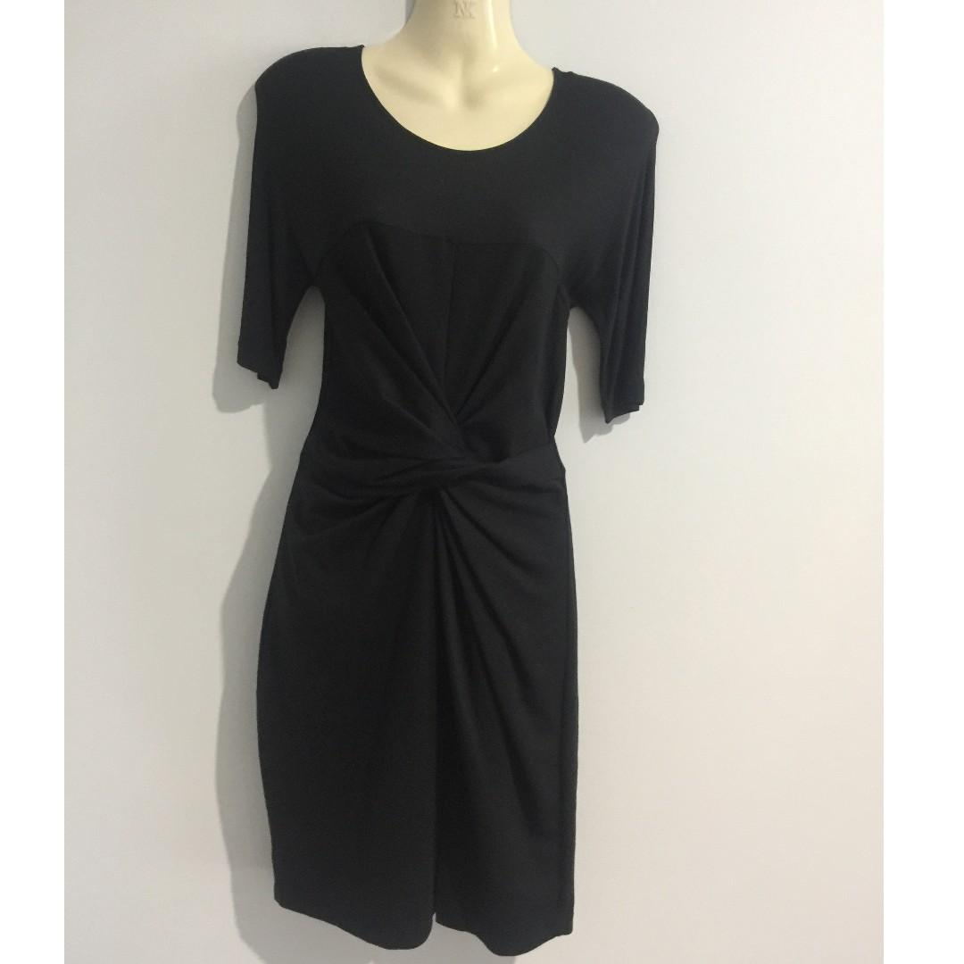 Country Road Black Knot Dress