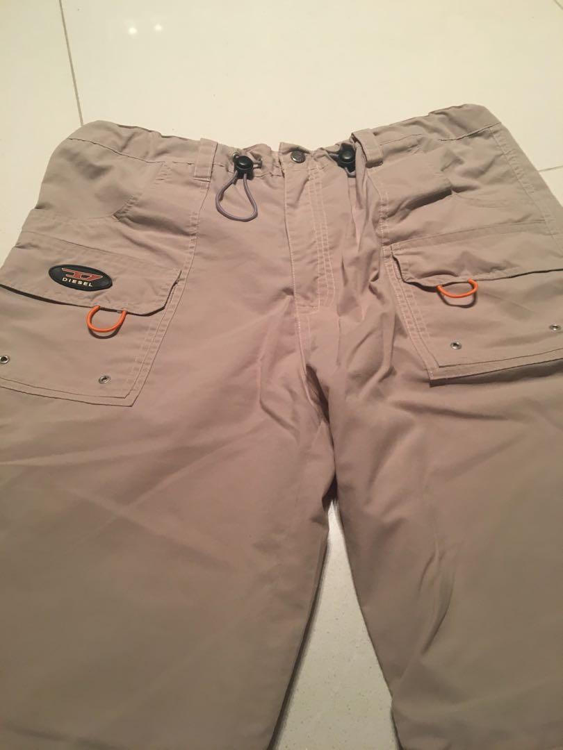 ff430f5b Diesel pants Safari, Men's Fashion, Clothes, Bottoms on Carousell